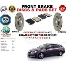 per Chevrolet Cruze Familiare 2012-on POI 300mm SET DISCHI FRENI ANTERIORI+