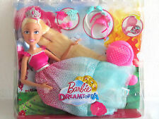 Mattel DKR09 Barbie Große Zauberhaar Prinzessin 43cm Puppe Blond