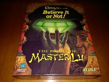 THE RIDDLE OF MASTER LU Ripley's Believe It Or Not - PC GAME BIG BOX UK Release