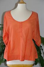 NEUF * Blouse / tunique orange SCHOOL RAG * T. 3