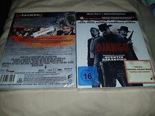 Django Unchained Blu-ray Muller Exclusive Digipack Embossed + Soundtrack CD New+