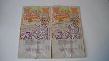 Nickelodeon- Gak Shack Mountain 1992 McDonalds Happy Meal Bags (2 of same bag)