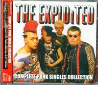 EXPLOITED-COMPLETE PUNK SINGLES COLLECTION-JAPAN CD F56