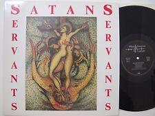 SATANS SERVANTS LP 1988 ORIGINAL German Heavy Metal Enterprises, Pink Cream 69