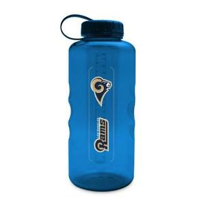 LOS ANGELES RAMS, 66 oz ENERGY, PLASTIC WATER BOTTLE FROM DUCKHOUSE SPORTS