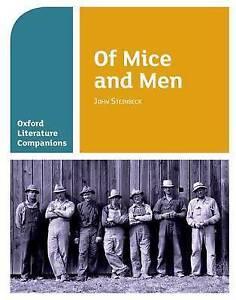 Oxford Literature Companions: Of Mice and Men 9780198390428 Paperback