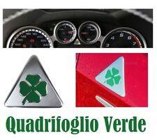 ALFA ROMEO Trèfle autocollants pour aile avant +  logo volant