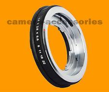 Voigtlander Bessamatic Retina DKL lens to Sony A Alpha Minolta MA mount adapter