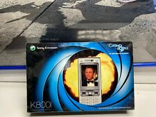Sony Ericsson K800i Mobile Phone Old Stock Rare collectors Mobile Phone Cell 1
