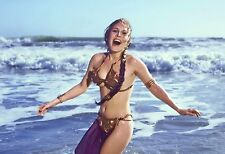 Princess Leia Slave Outfit Star Wars Movie Silk Canvas Poster 12x18 20x30inch