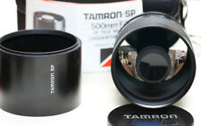 Tamron SP 500mm f/8.0 mirror lens, model 55BB, with M42 adapter