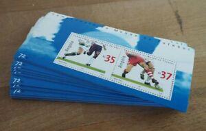 2002 Angola; 100 Blocks Fußball-WM, postfrisch/MNH, Bl. 100, ME 1000,-