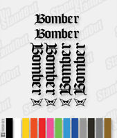Marzocchi Bomber Gothic 2003 Decals / Stickers Pack - Custom Colour