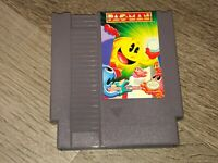 Pac-Man Namco Version  Nintendo Nes Cleaned & Tested Authentic
