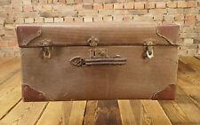 Vecchio Shell Valigia Da Viaggio Auto D'epoca Übersee Valigia Shell Suitcase