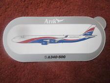 AUTOCOLLANT STICKER AUFKLEBER AIRBUS A340-500 ARIK AIR NIGERIA AFRICA