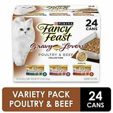 Purina Fancy Feast Gravy Lovers Poultry & Beef Feast Collection Wet Cat Food Pac