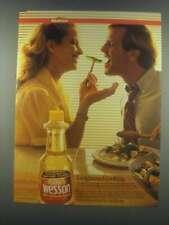 1985 Sunlite Wesson Sunflower Seed Oil Ad - Enlightened