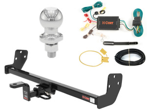 """Curt Class 1 Trailer Hitch Tow Package w/ 1-7/8"""" Ball for Prizm/Corolla"""