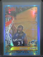 2001-02 Topps Chrome Refractor #95 Michael Jordan Off Centered