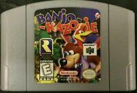 Banjo-Kazooie For 64 Bit - USA Version NTSC Card