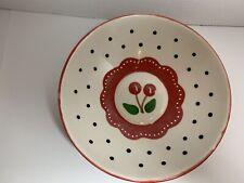 New ListingMary Engelbreit Bowl Cherryware White Cherry 8�