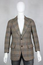 vintage Paul Stuart wool tweed blazer 40 jacket sportscoat 70's check plaid
