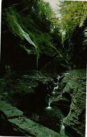 Vintage Postcard - Glen Of The Pools Watkins Glen Rainbow NEW YORK NY #3841