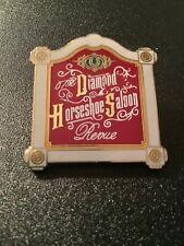 Countdown To Disney Pin Celebration Diamond Horseshoe Saloon Revue Retired 5464
