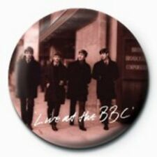 BEATLES live at the bbc - BUTTON BADGE official merchandise - lennon & mccartney