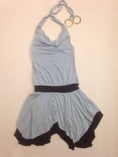 Guess Juniors Womans Size Small S Dress Halter Top With Big Rings