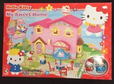 Hello Kitty My Sweet Home Play Set Includes 2 Figurines New In Box