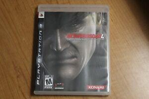 Metal Gear Solid 4 Konami Sony PS3