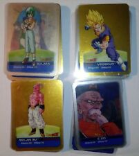 Lotto Dragonball Z Lamincards Son Goku Vegeta One Piece Bleach Manga