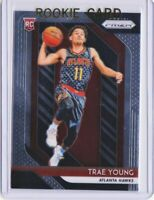 Trae Young RC 🔥 Invest! 2018-19 Prizm Basketball #78 base rookie ~ Hawks