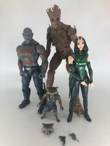 MARVEL LEGENDS MCU Guardians of the Galaxy Lot Mantis BAF Groot BAF Drax Rocket