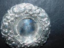 """ANTIQUE WHITING STERLING SILVER LILY OF THE VALLEY 6"""" BOWL"""