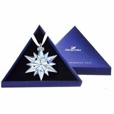 Nib Swarovski Snowflake Ornament Large Annual Edition 2017 Christmas #5257589
