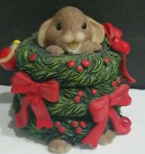 """Charming Tails 'The Wreath-In For The Season"""" Christmas Mouse 402/3657"""
