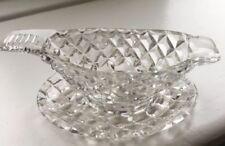 Vintage Original Gravy/Sauce Boat Glassware