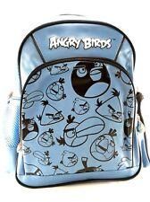 "Rovio Angry Birds Cargo Boys & Girls 10"" Canvas Shine Blue School Backpack"