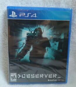 New & Sealed Observer Limited Run Games PS4 #162