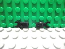 Lego mini figure 2 Black mechanical bar with clip droid claw robot NEW