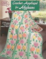 Crochet Applique for Afghans Crochet Instruction Patterns Eleanor Albano-Miles