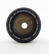 Minolta MD Celtic 100-200mm F5.6 Lens
