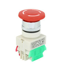 1no 1nc Red Sign Mushroom Emergency Stop Push Button Switch UI 660v 10a