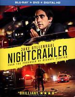 Nightcrawler (Blu-ray+DVD+Digital Copy) New In Package Free Shipping!!