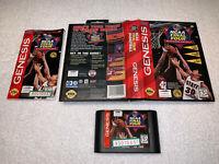 NFL Quarterback Club 96 (Sega Genesis 1995) CIB Complete in Box Excellent!