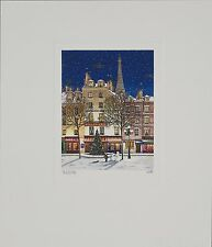 Liudmila Kondakova - Joyeux Noel , hand-signed lithograph