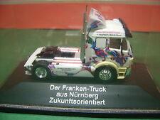 Herpa MB Franken Truck im Schaukasten  aus Sammlungsauflösung